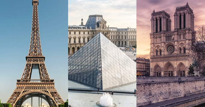 1 DAY VIP: Louvre, Eiffel Tower, Notre Dame and Montmartre