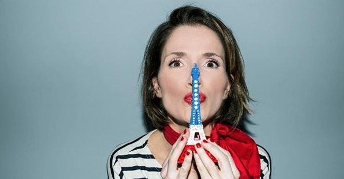OMG She's Parisian!