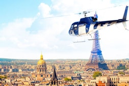 Paris to Versailles by Helicopter