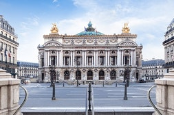 Opera Garnier: access public areas