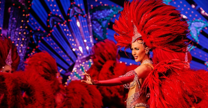 Spectacle au Moulin Rouge