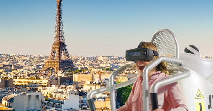 FlyView : survolez Paris en réalité virtuelle !
