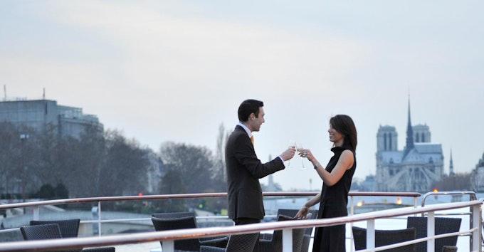 Dîner croisière de Luxe à bord des Yachts de Paris