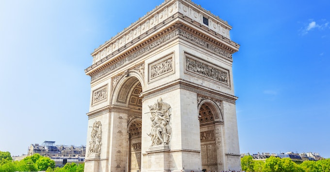 Paris : billet coupe-file toit de l'Arc de Triomphe