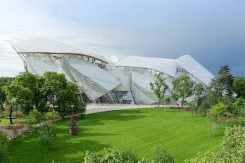 Fondation Louis Vuitton à Paris : billet d'entrée
