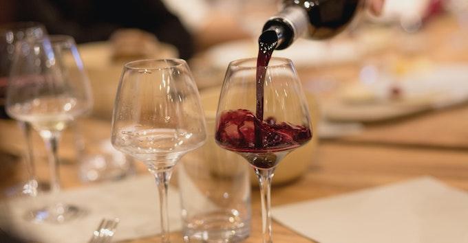 Dégustation de vins aux Galeries Lafayette